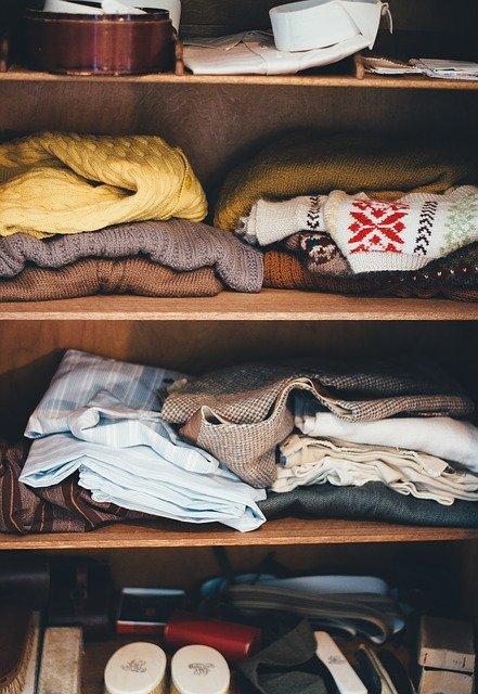 Järjestele tavarat ja vaatteet etukäteen