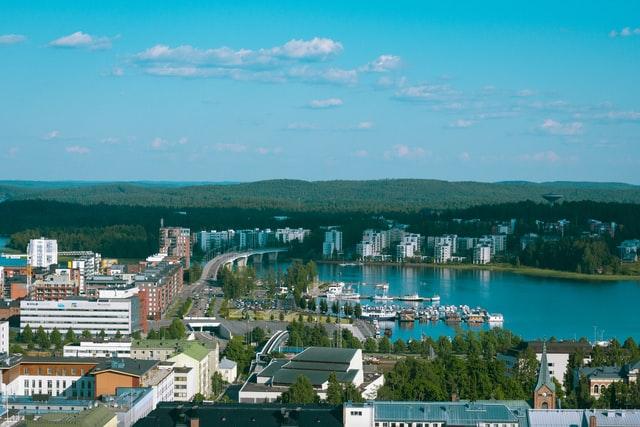 Jyväskylän järvet ja metsät